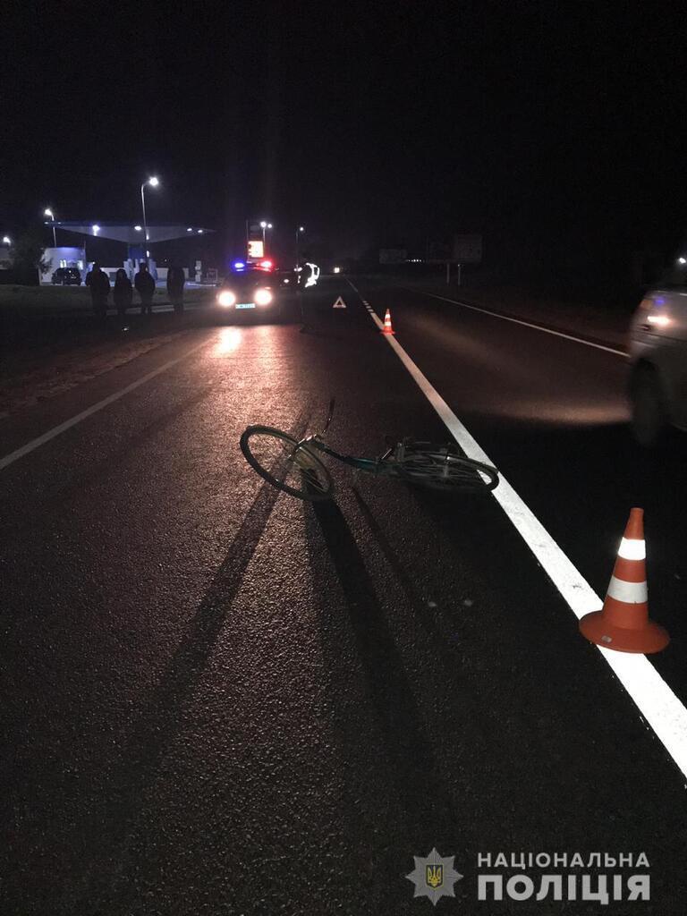 Поліцейський насмерть збив людину
