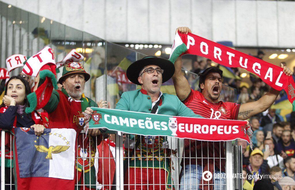 Фанати збірної Португалії