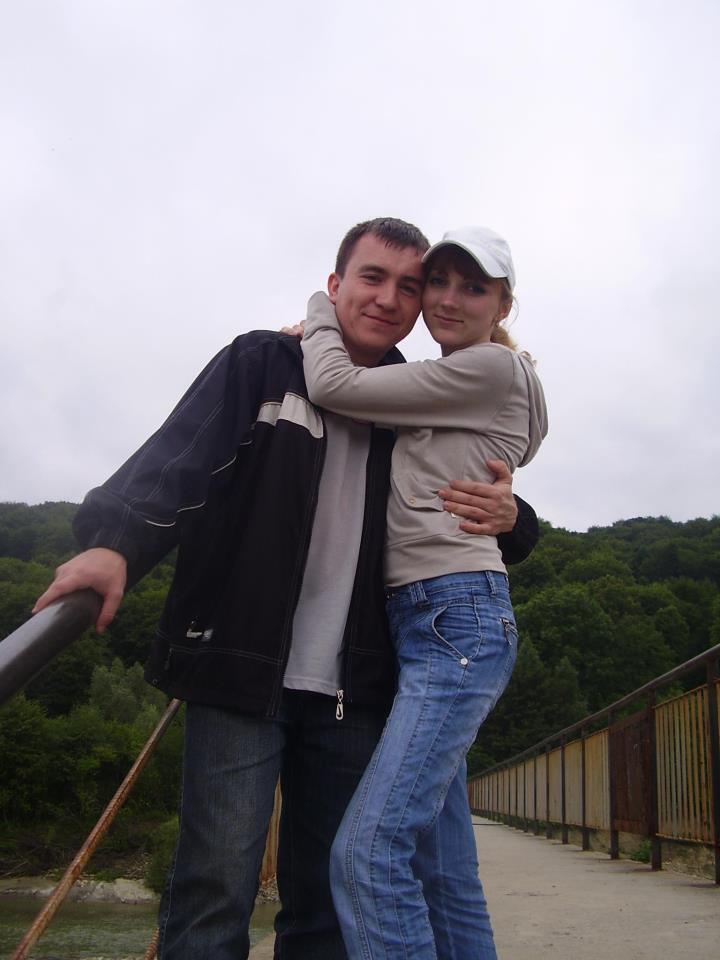 Олег Якуц с супругой