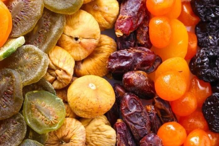 Сухофрукти взимку заповнять недолік вітамінів