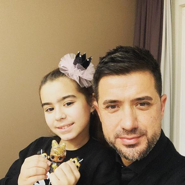 Ексчоловік Ані Лорак з дочкою