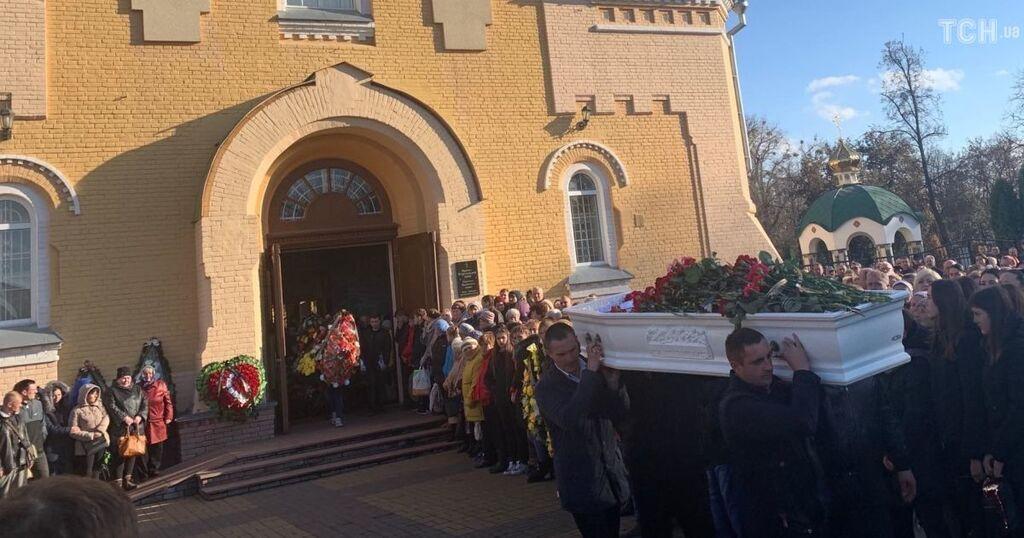 На Черниговщине попрощались с Денисом Чаленко