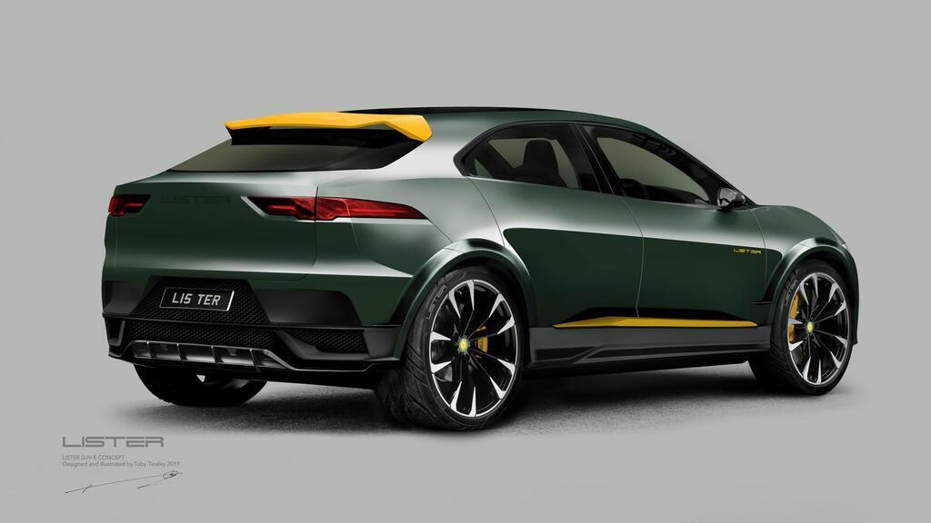 Дизайнерський SUV-E Jaguar I-Pace після модифікації