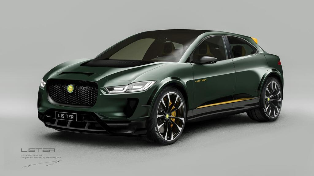 Дизайнерський SUV-E Jaguar I-Pace