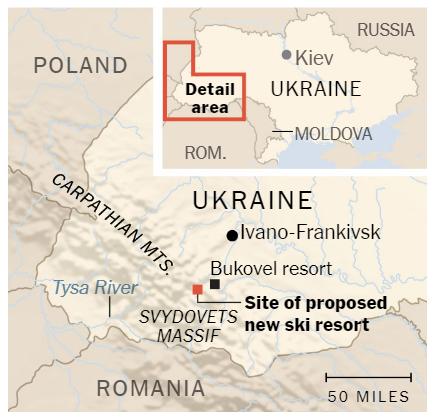 Под угрозой леса: New York Times написала о проекте Коломойского в Карпатах