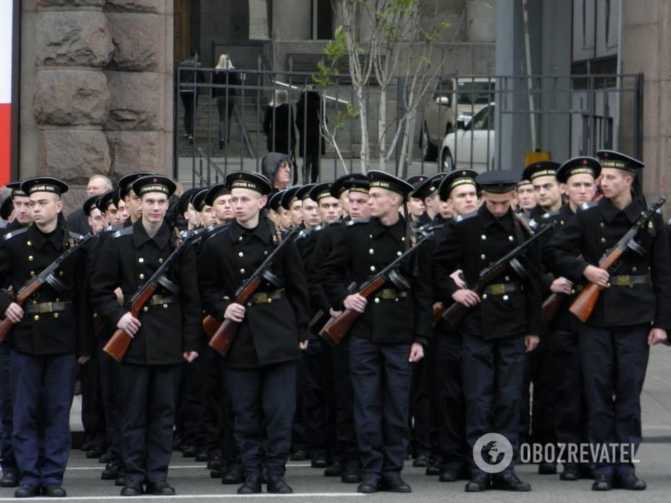 Парад на Крещатике в честь 70-летия освобождения Киева, 6 ноября 2013 года