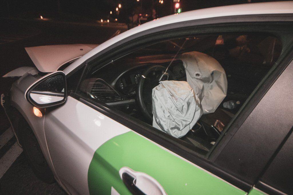 Водитель авто был с признаками алкогольного опьянения