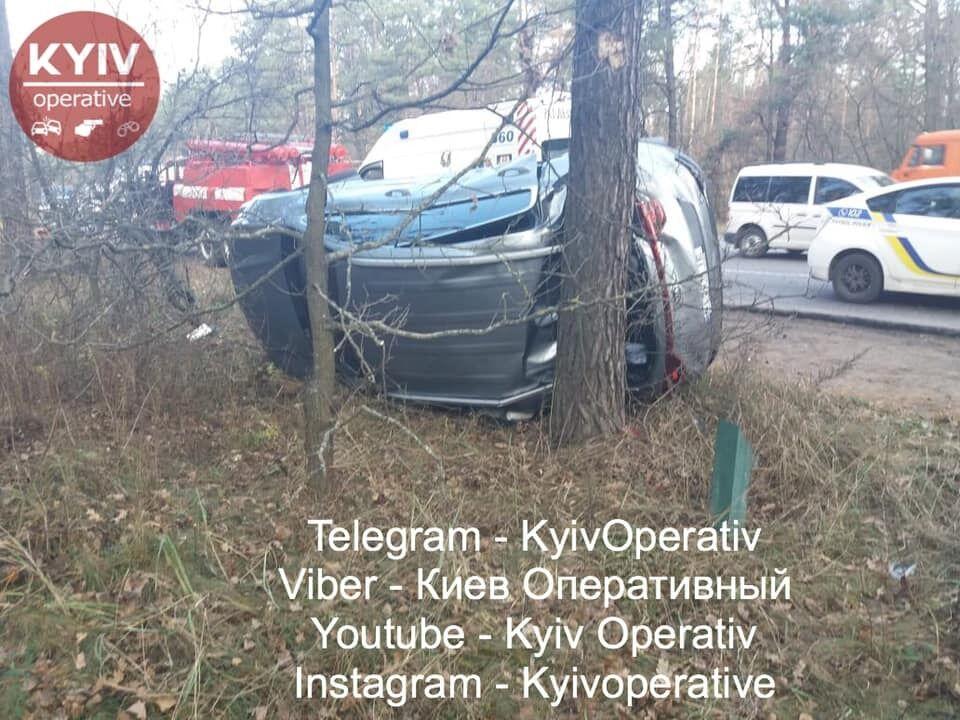 Под Киевом, на Гостомельской трассе, 6 ноября случилось жуткое ДТП