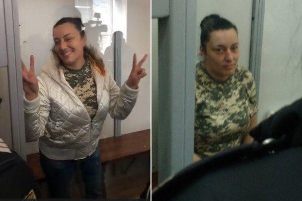 """Інна Грищенко """"Пума"""" була затримана 5 листопада. Печерський районний суд Києва 6 листопада обрав запобіжний захід – тримання під вартою. Інна має третю групу інвалідності, яка отримана внаслідок війни. У неї є неповнолітня дочка."""