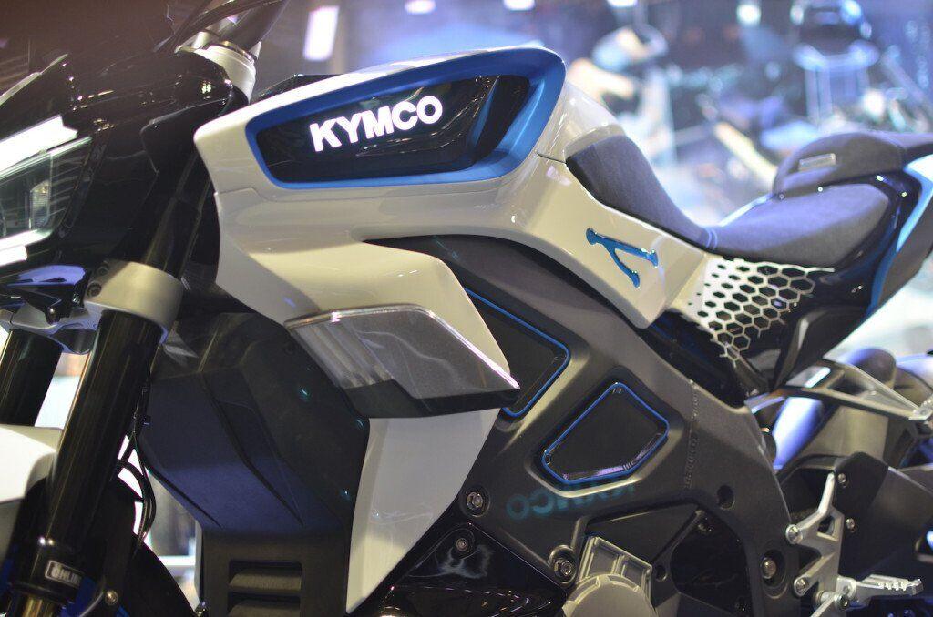 Электрический мотоцикл KYMCO RevoNEX