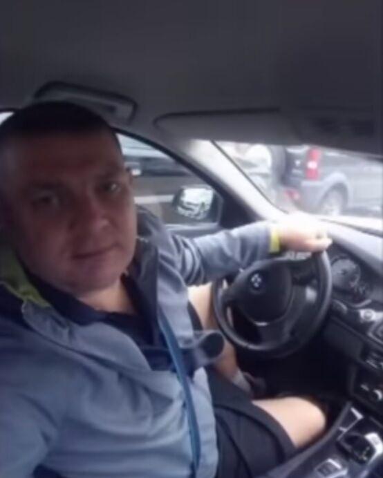 Бывший милиционер Владимир Кузьменко