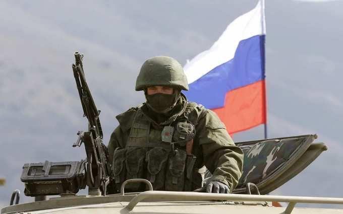 Російська армія на території Донбасу