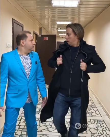 Максим Галкин и Борис Рубиновский