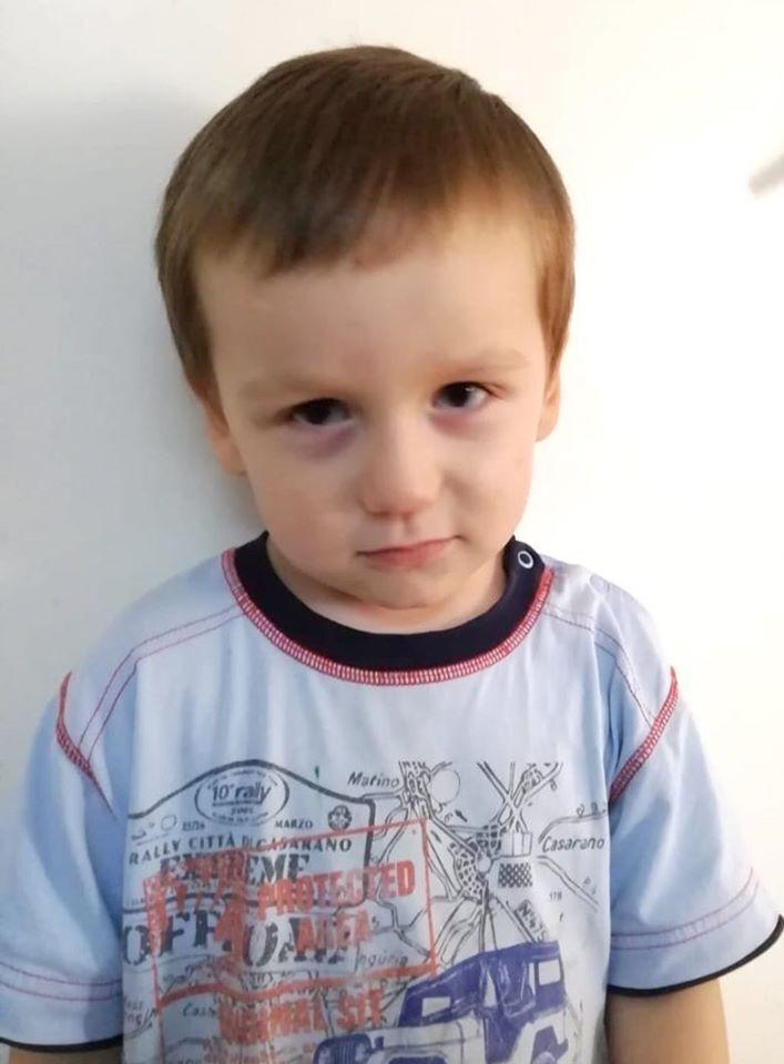 В Киеве ищут родителей трехлетнего мальчика