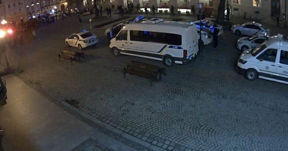 Бійка ультрас у Львові