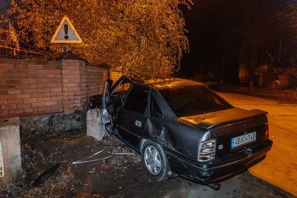 В Днепре столкнулись Opel и Chevrolet