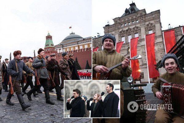 """Звезды из РФ поддержали новое """"победобесие"""" в Москве"""
