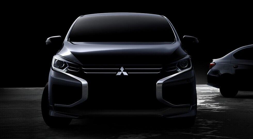 Mitsubishi Mirage (Space Star) отримав стильний дизайн