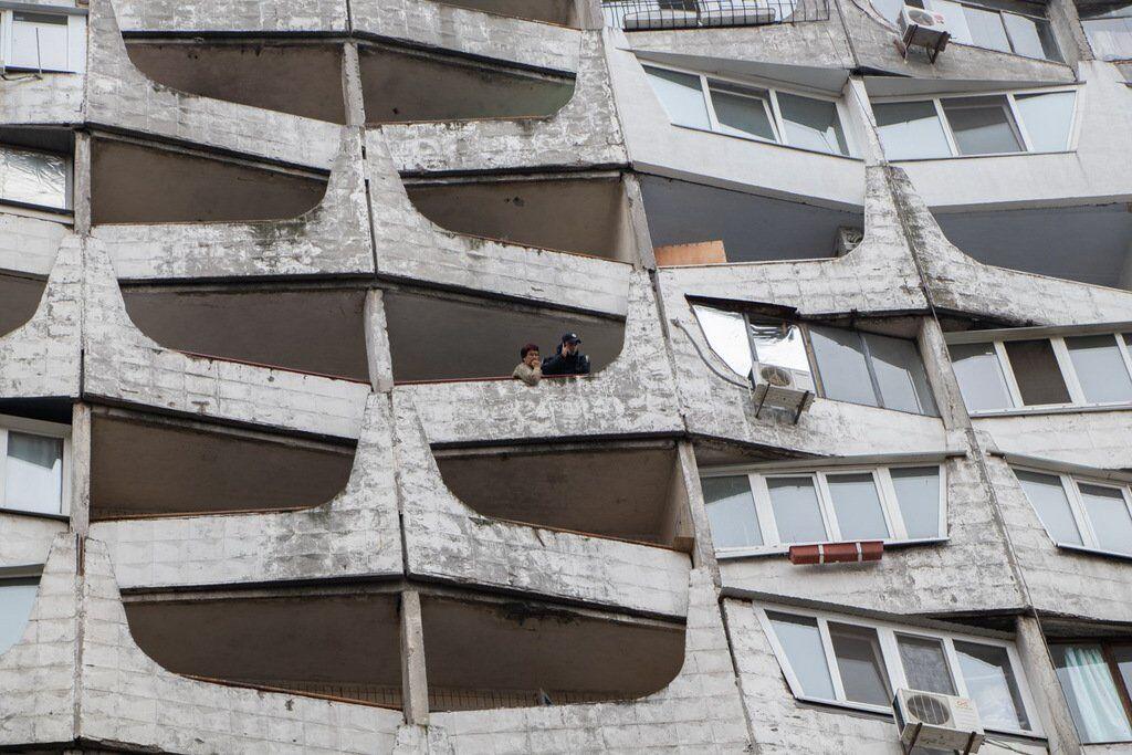 В Днепре женщина выбросилась с 16 этажа