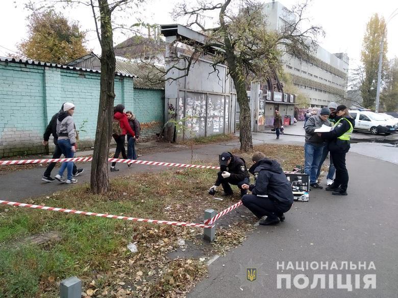 В Киеве неизвестные ударили юриста и применили газовый баллончик