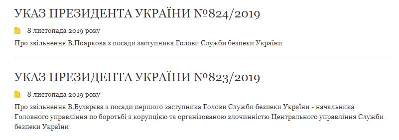 Зеленський звільнив заступника Баканова й одразу ж підвищив