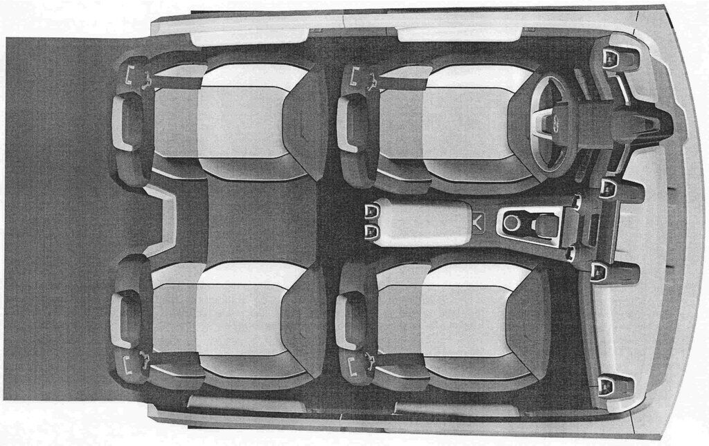 В інтер'єрі Lada 4x4 виділено місця для чотирьох – не дуже практичне рішення