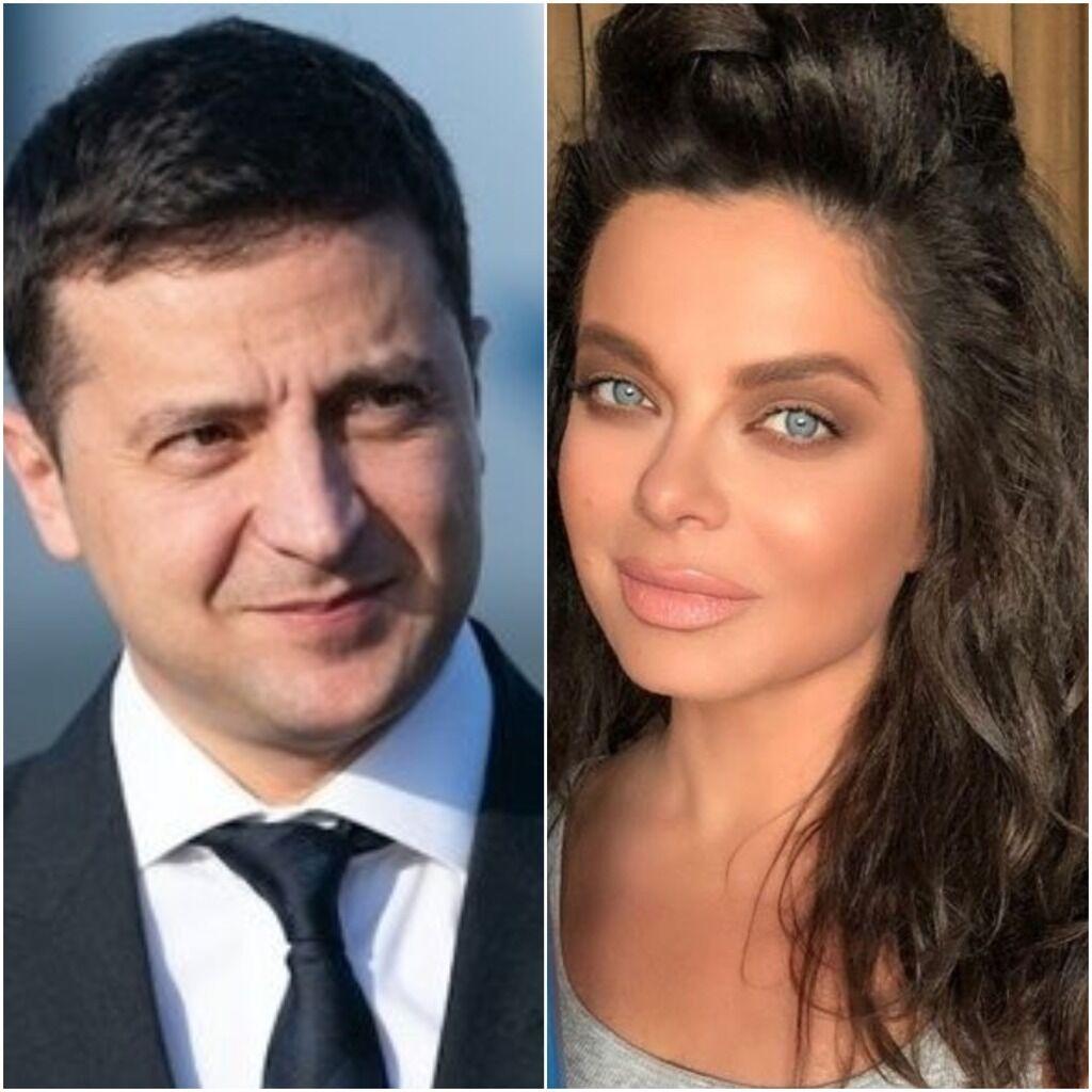 Володимир Зеленський та Наташа Корольова