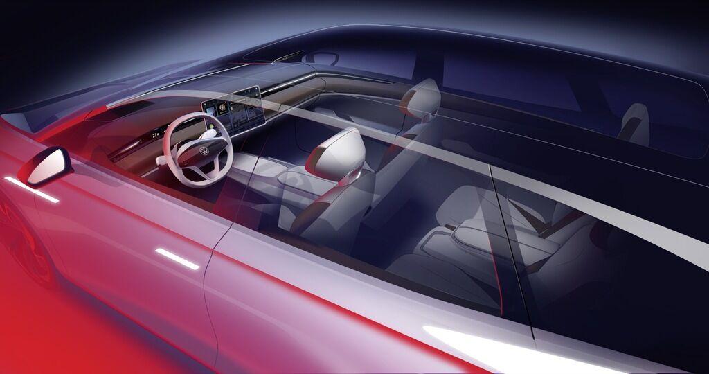 Концепт електрокара Volkswagen ID SPACE VIZZION