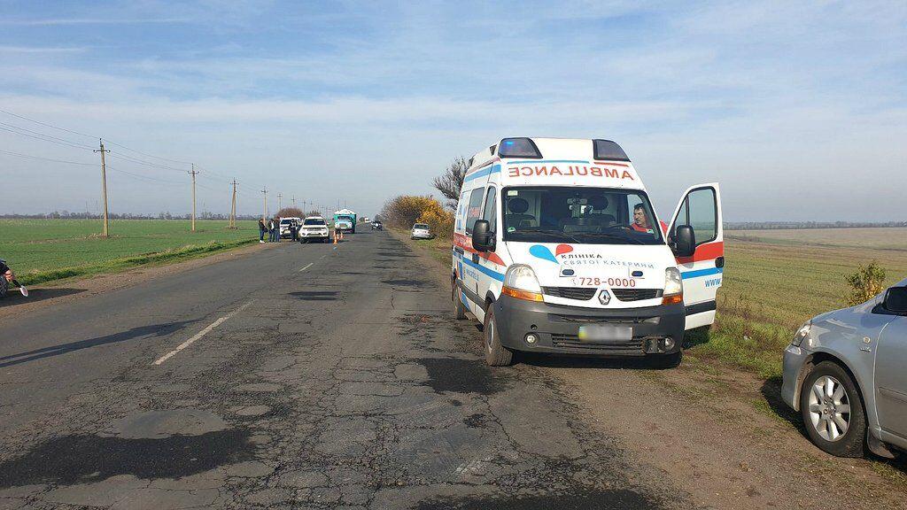 Под Одессой произошло масштабное ДТП