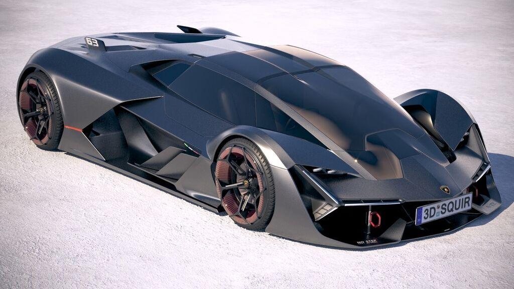 Електрокар Lamborghini Terzo Millennio