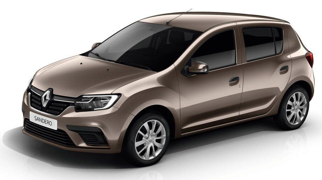 Так Renault Sandero выглядит на данный момент