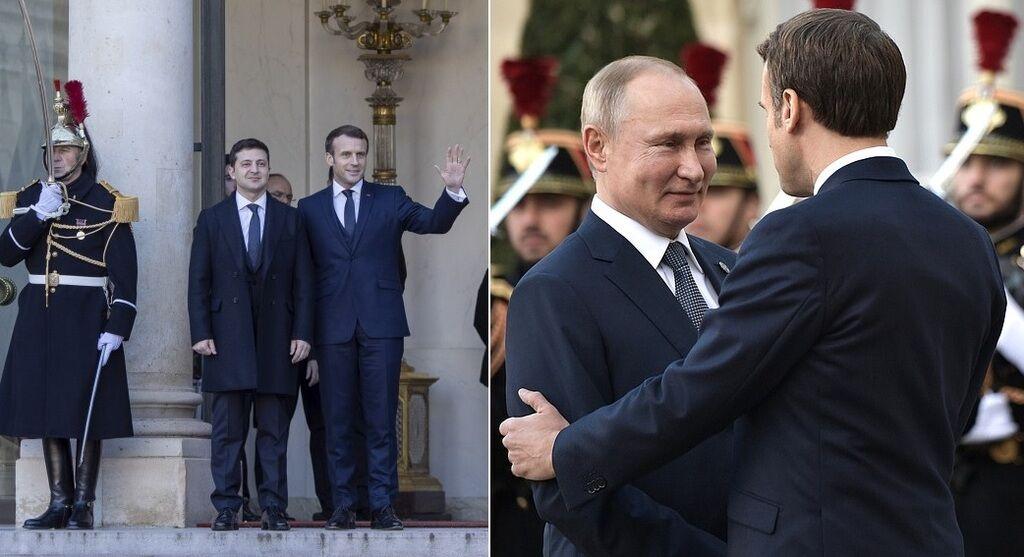 Эммануэль Макрон: встреча Зеленского и Путина