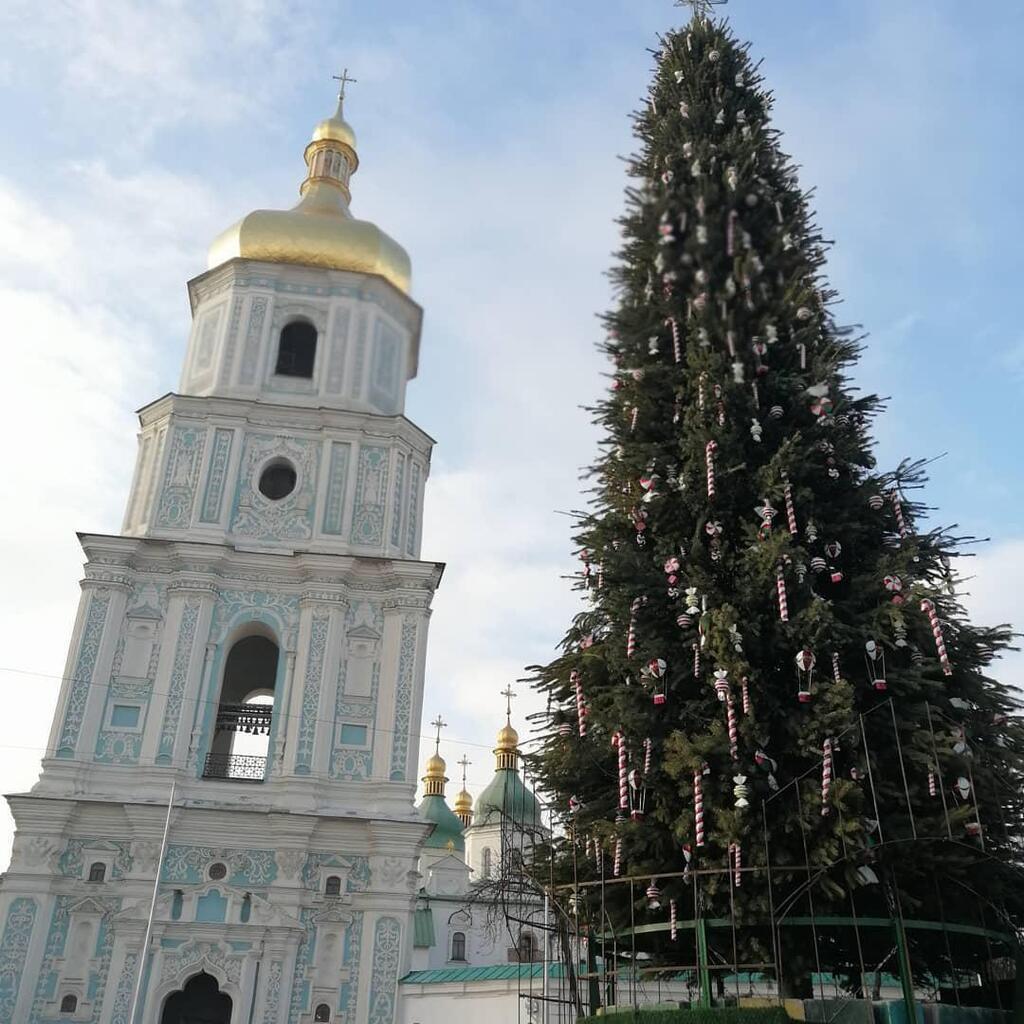 Новорічна ялинка у Києві