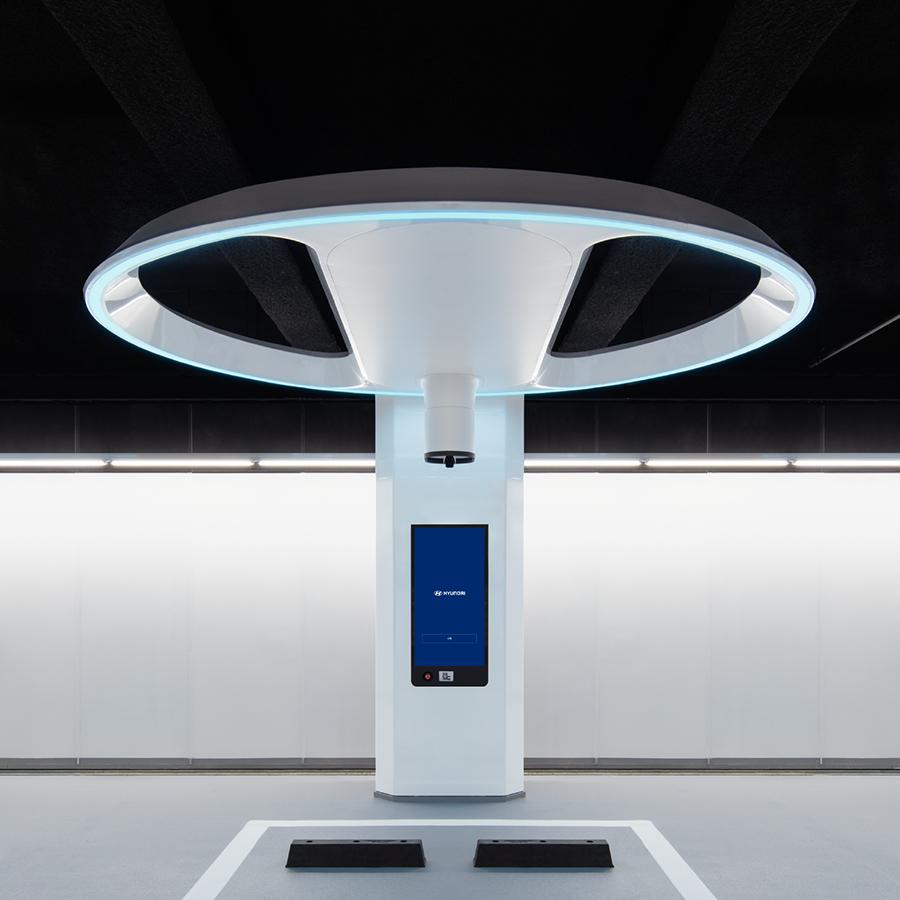 Автоматична зарядна станція Hyundai