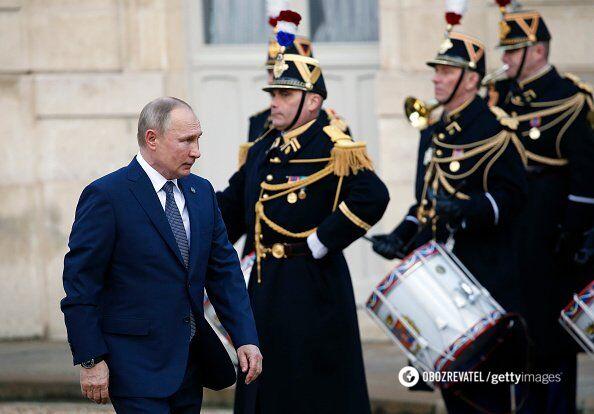 Володимир Путін у Парижі