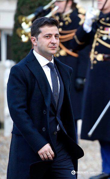 Володимир Зеленський в Парижі