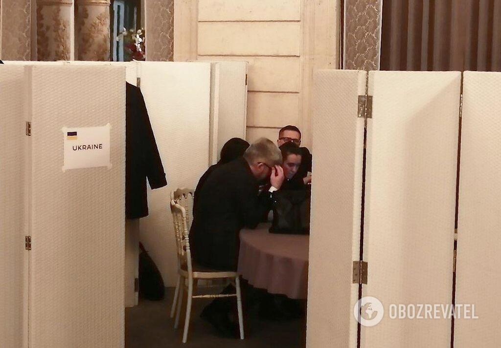 Украинская делегация составляет финальный комюнике