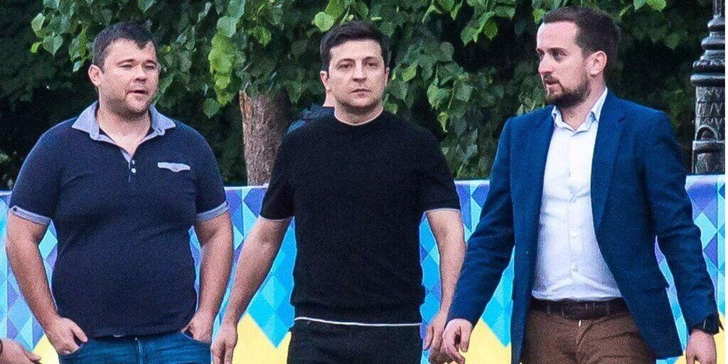 Андрей Богдан, Владимир Зеленский, Кирилл Тимошенко