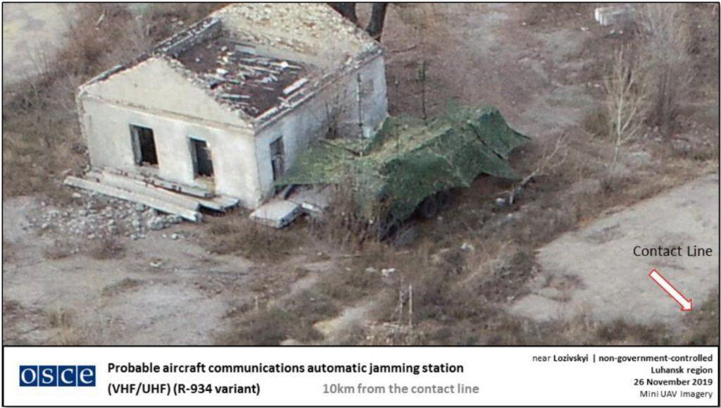 Россия перебросила военную технику на Донбасс