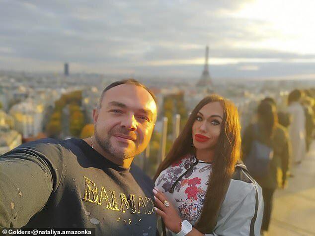 Наталія Кузнєцова з чоловіком