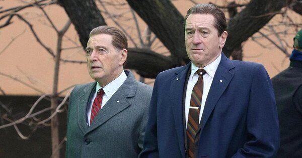"""Аль Пачіно, """"Ірландець"""" (ліворуч)"""