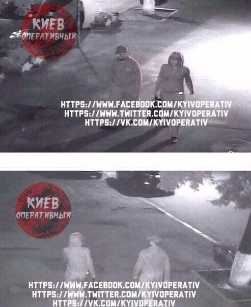Фото подозреваемых в убийстве Шеремета с камер наблюдения