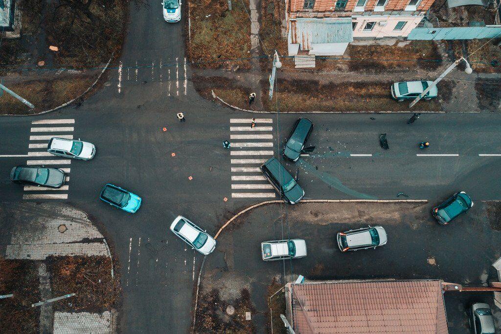 Водії влаштували жорстку ДТП в Дніпрі