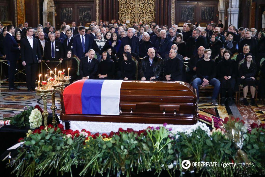 Похорон Путіна