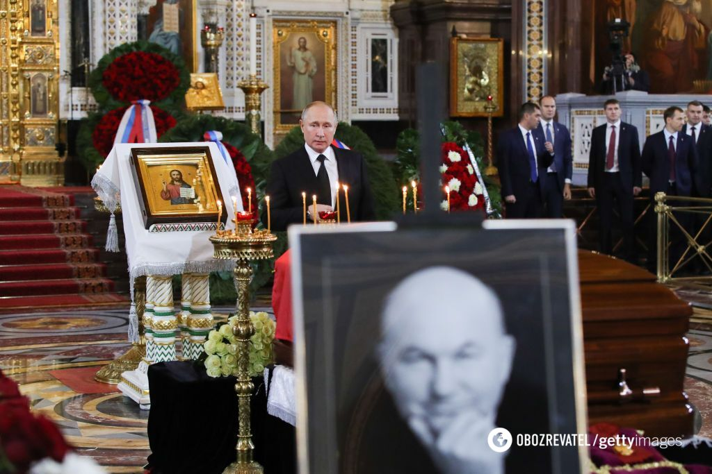 Похорон Лужкова