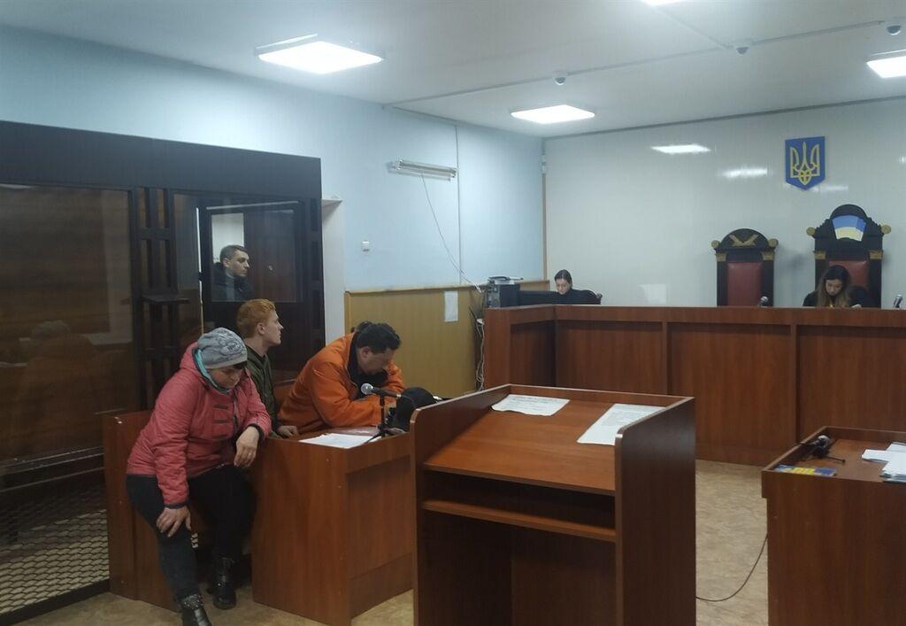 Олександр Баришок на засіданні суду в Бахмуті