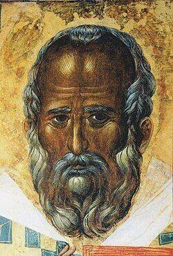 Икона святого Николая в Бари (Италия), которая, как считается, была написана на основе прижизненного изображения святого