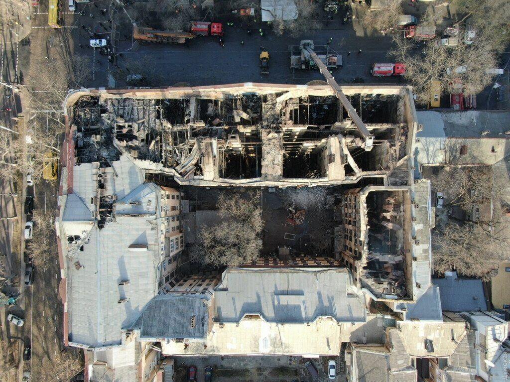 Страшный пожар в Одессе: закончен разбор завалов на Троицкой