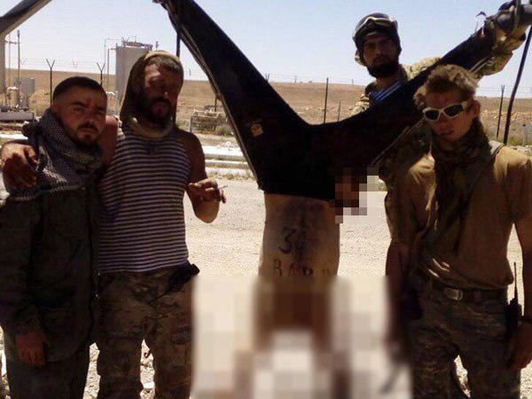 Они казнили сирийца в пустыне