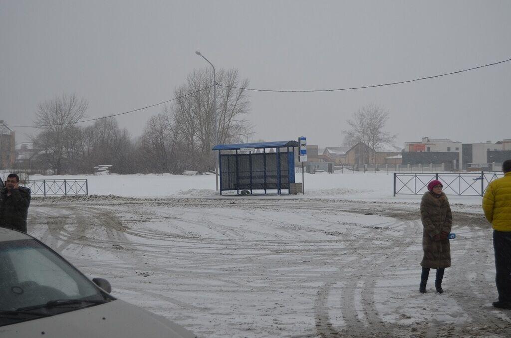 Урочисте відкриття зупинки в РФ